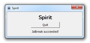 Spirit quit