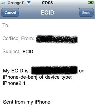 EmailECID