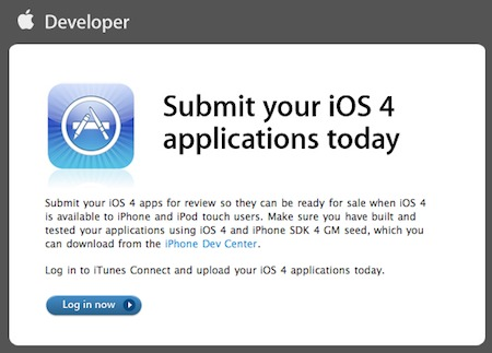 IOS4-applications