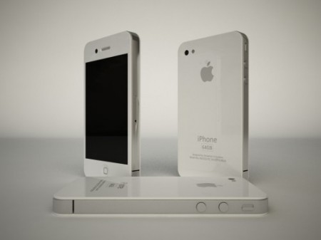 iphone 4g white. Concept-iPhone-4G-White