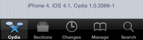 New cydia