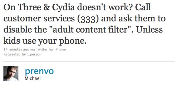 Unblock-Cydia