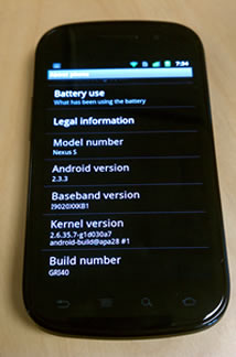 Nexus-S-android-Gingerbread