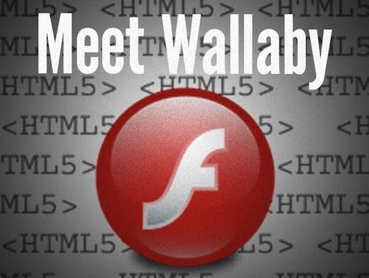 Wallaby-html5-flash-convers