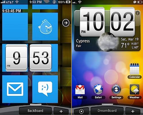 DreamBoard-theme-iPhone-iOS