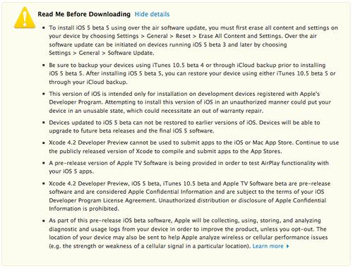 Releasenotes-ios5b5