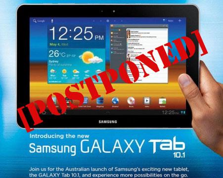 Samsung-postpones