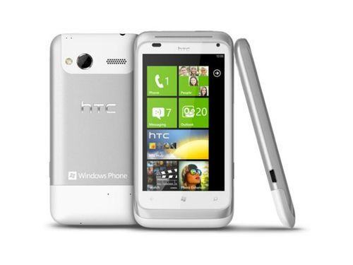 HTC Radar: Phone Windows 7 with a screen 3.8 inches