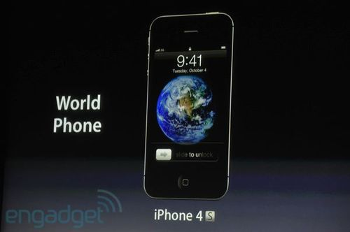 Apple Releases a new iPhone, the iPhone 4S with A5 CPU