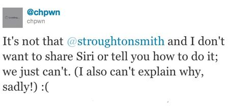 Siri GUi Dictation and Voice Command a hit ported on iPhone four & iPod contact 4G