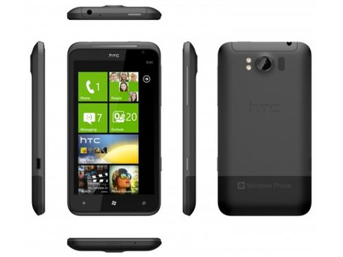 HTC Titan Phone Windows 7 with a screen 4.7 inches