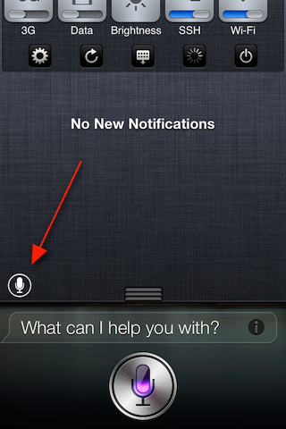 SiriLaunch Provides Siri Jailbreak Tweak to Your Notification Middle (Jailbreak)