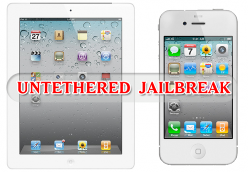 Untethered jailbreak iphone4s and iPad2