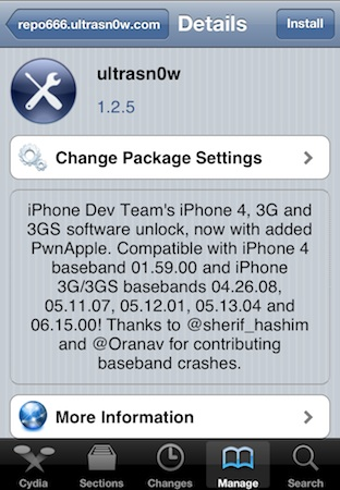 Ultrasn0w-1.2.5-Cydia