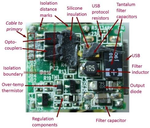 Apple-USB-Power-Adapter-teardown-secondary-circuit-board