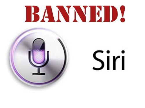 Siri-banned