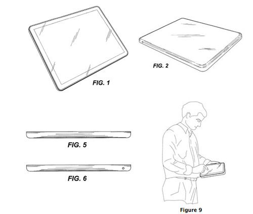 Apple-tablet-patent