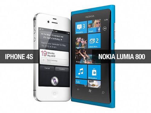 Iphone-4s-vs-nokia-lumia-800