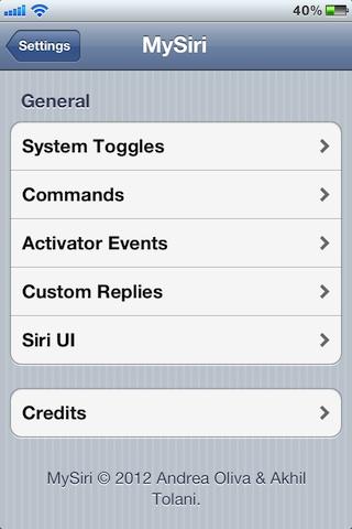 MySiri-Screenshot
