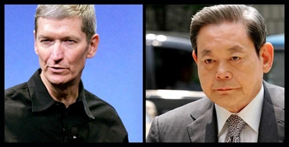 Apple-Samsung-CEO